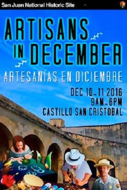 artisans in december flyer