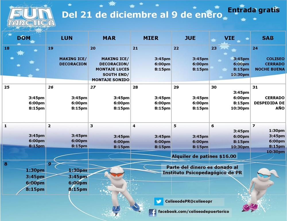 Funtarctica calendar