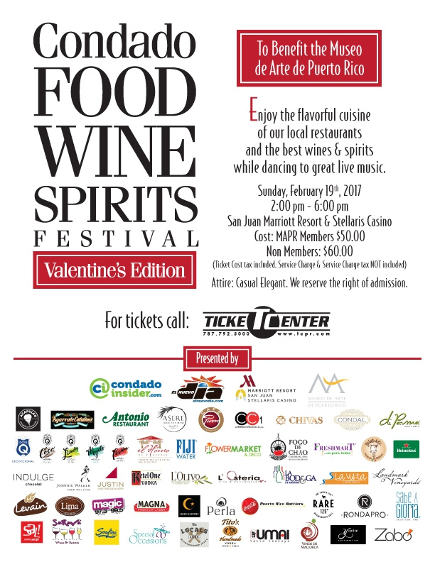 Condado Food Wine Spirits Festival flyer