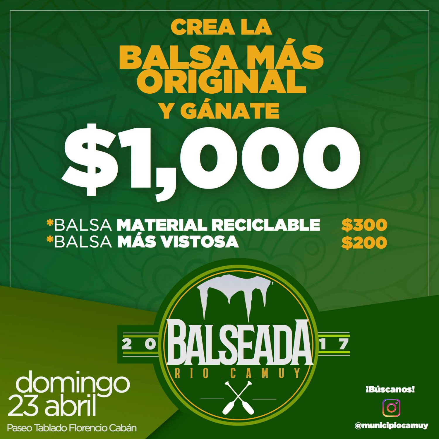 balseada 2017 prize money