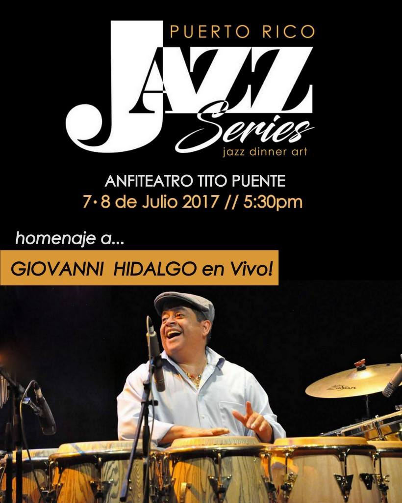 puerto rico jazz series flyer