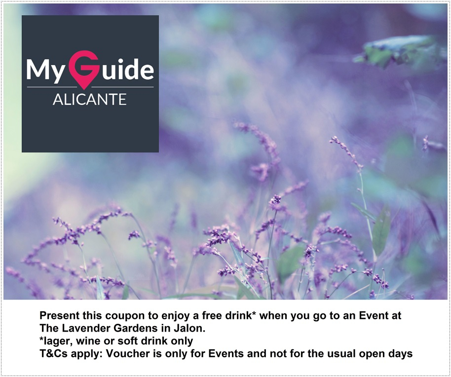 Coupon for The Lavender Garden