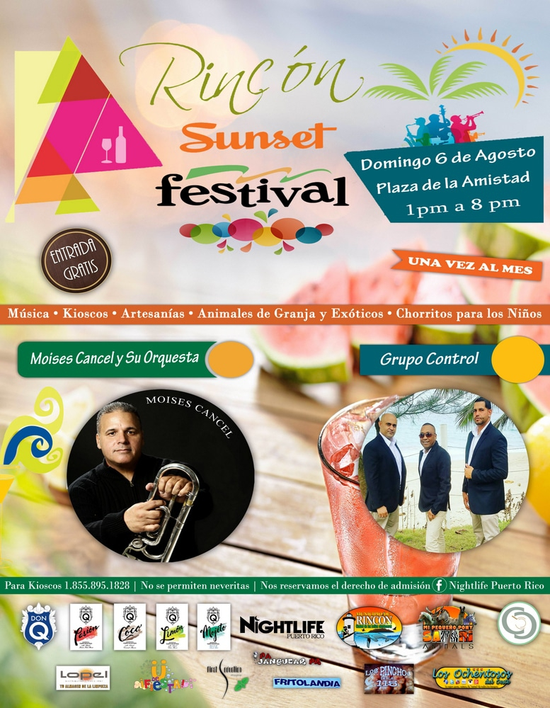 events in Puerto rico rincón sunset festival