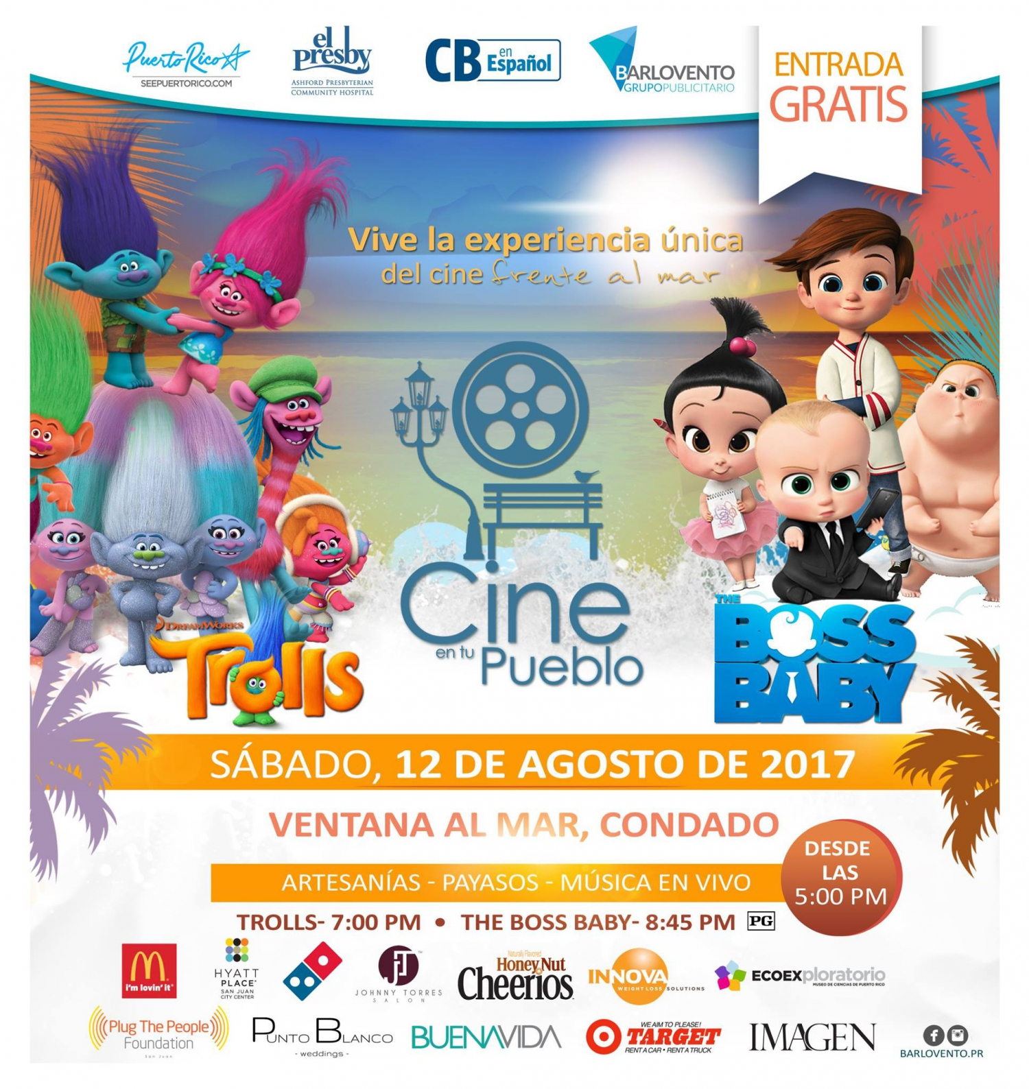 free film showing for the family in san juan, puerto rico