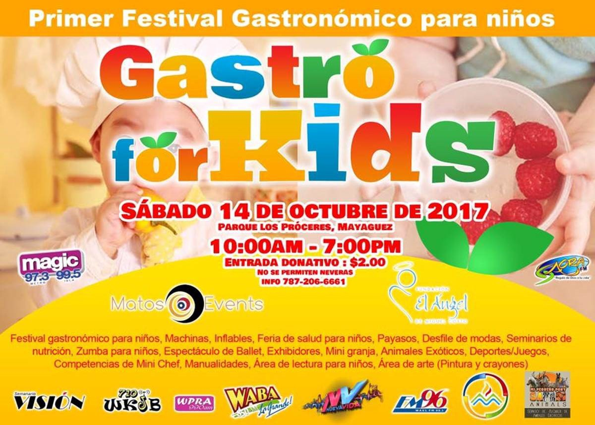 gastronomy event for kids in puerto rico
