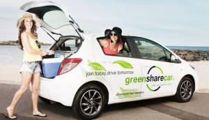 GreenShareCar - Car Hire by the hour