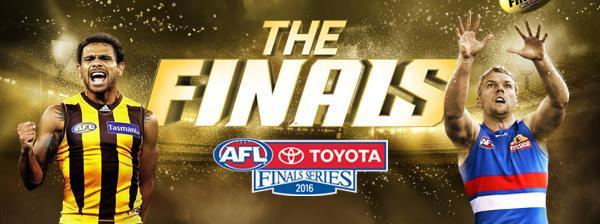 AFL Second Semi Final: Hawthorn v Western Bulldogs