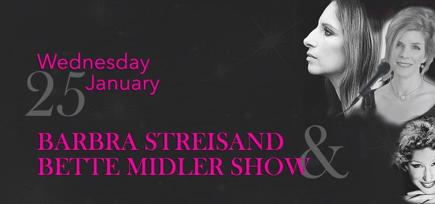Barbra Streisand and Bette Midler Tribute