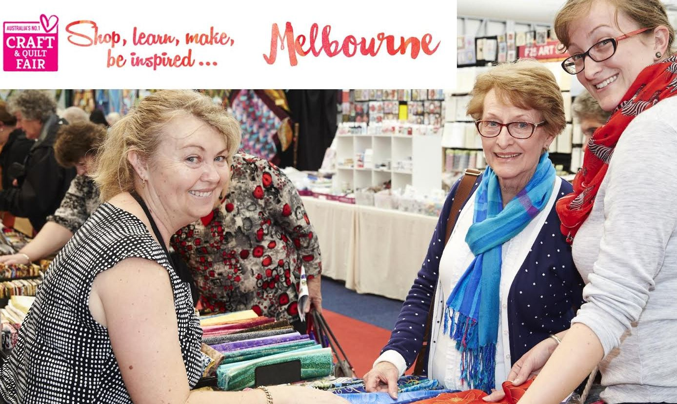 CRAFT & QUILT FAIR, Melbourne