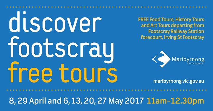 Discover Footscray free tours