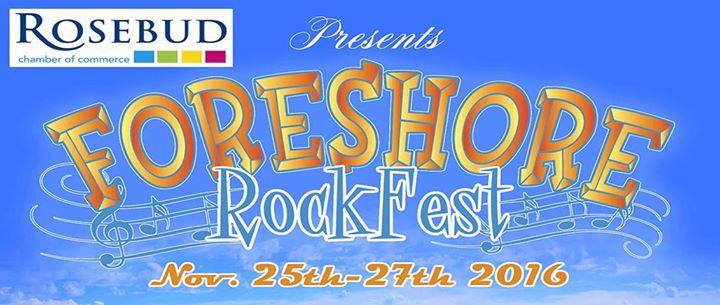 Foreshore Rockfest Event - please share!