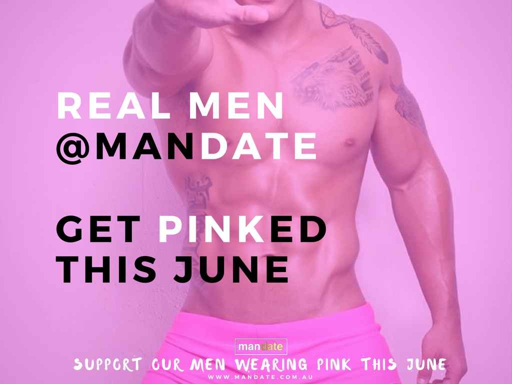 Get PINKED this June with MANDATE