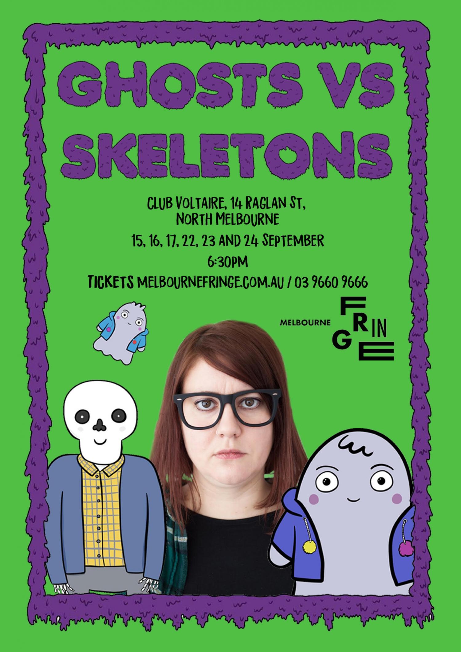 Ghosts vs Skeletons