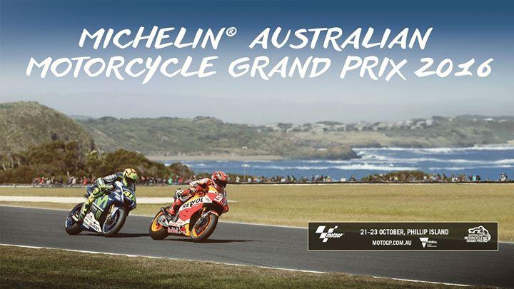Michelin® Australian Motorcycle Grand Prix 2016