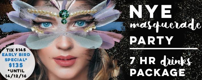 NYE 2016 Masquerade Party