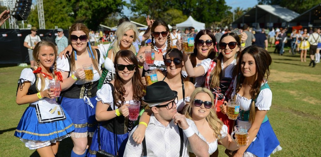 Oktoberfest in the Gardens - Melbourne