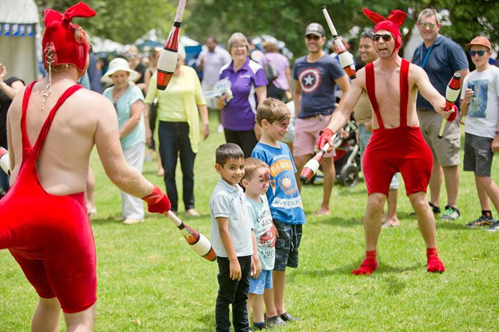 RACV Australia Day Festival in Kings Domain Gardens
