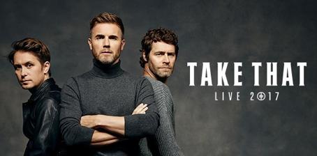 Take That Live Tour 2017