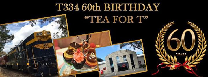 Tea for T. T334, 60th Birthday