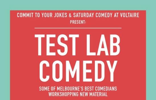 Test Lab Comedy