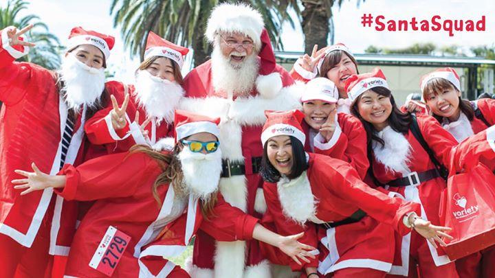 Variety Santa Fun Run Melbourne