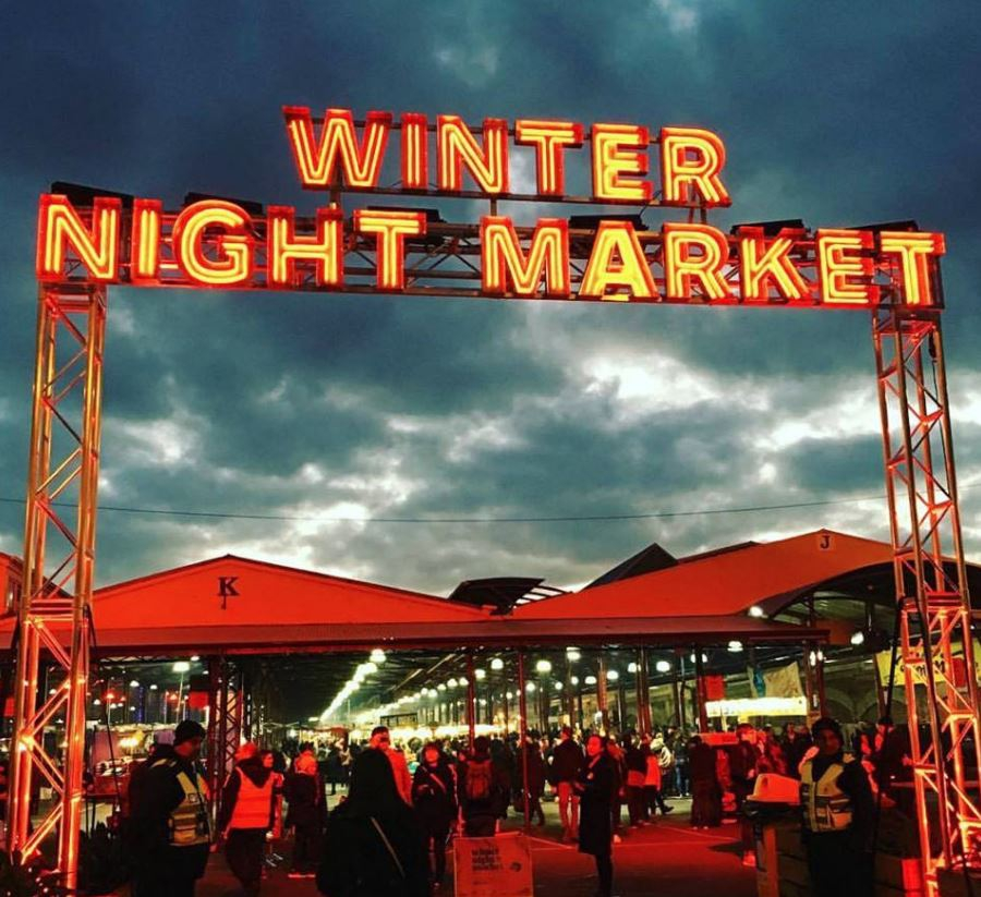 Winter Night Market Opening Night!