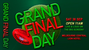 AFL Grand Final at The Lion Hotel