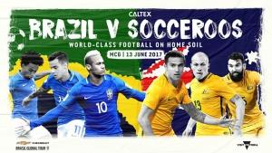 Brazil v Socceroos