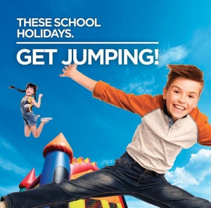 JUMP, CLIMB AND PLAY THESE SCHOOL HOLIDAYS AT HARBOUR TOWN MELBOURNE
