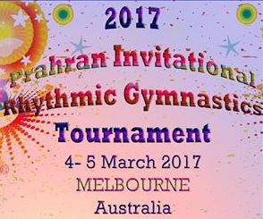 Prahran Invitational Rhythmic GymnasticsTournament 2017