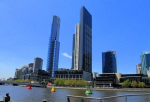 A view of Melbourne Eureka Building