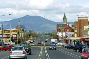 Ararat in Country Victoria