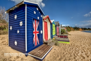 Bathing boxes - typically Melbourne