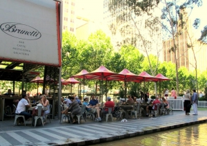 Cafe society in Melbourne City Centre