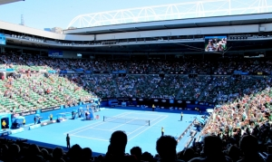 Centre Court at the Australian Open