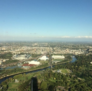 Eureka Tower looking East: by Carra Owen