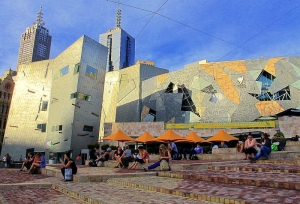 Federation Square cafes