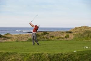 Golfing along Great Ocean Road