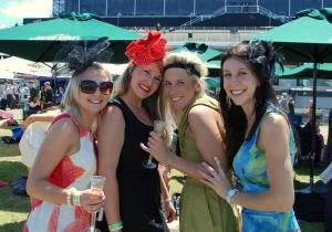 Ladies Day at Melbourne Spring Racing