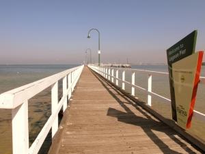 Lagoon Pier : Parks Victoria