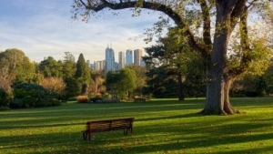 Melbourne has many wonderful gardens