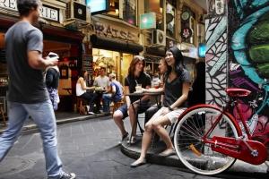 Melbourne Laneways: Alison Smart