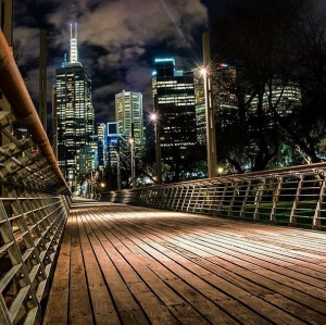 Melbourne Night Scene: Thanks to Stacey