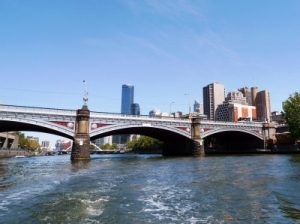 Princes Bridge over Yarra river in Melbourne