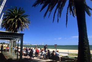 St Kilda Beach : Adam Bruzzone