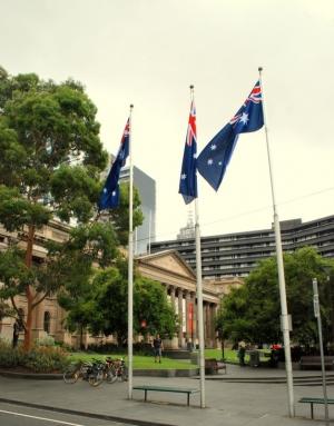 Victoria State Library Melbourne