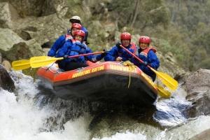 Whitewater rafting, Mitta Mitta River