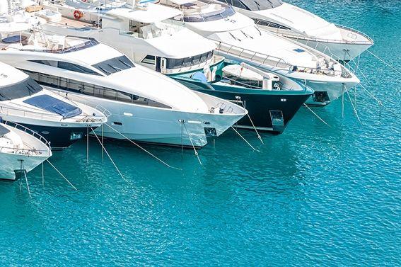 Boats at Porto Montenegro