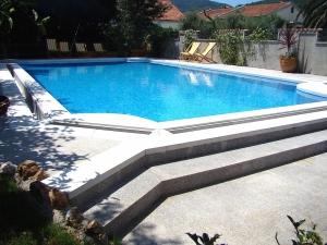Open Pool in Hotel Dubrava Budva Montenegro