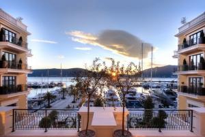 View from Regent Porto Montenegro